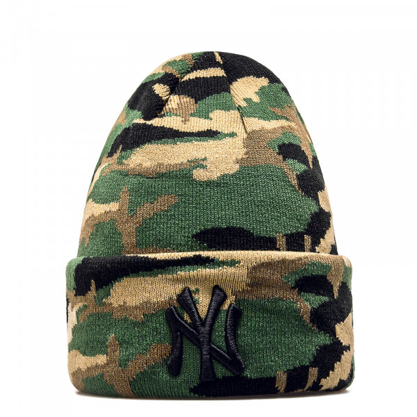 New Era Beanie NY Camo Green