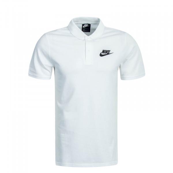 Herren Polo Matchup White