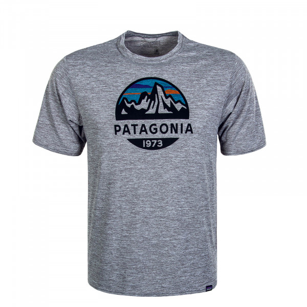 Herren T-Shirt Cap Cool Daily Graphic Grey