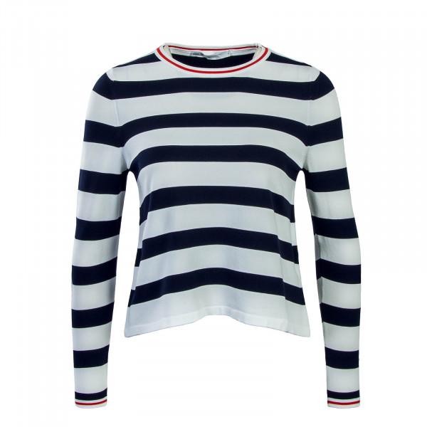 Only LS Suzana Stripe White Navy