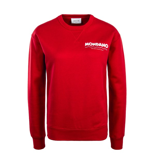 WoodWood Wmn Sweat Flora Red