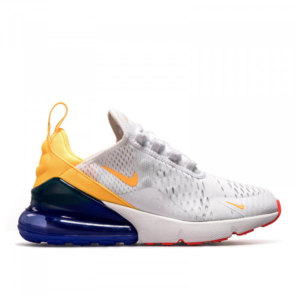 Nike Wmn Air Max 270  White Orange