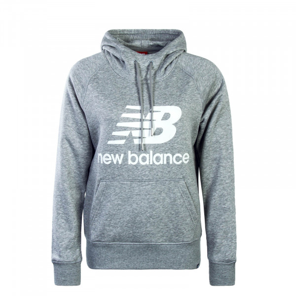 New Balance Wmn Hoody WT83563 AG Grey Wh