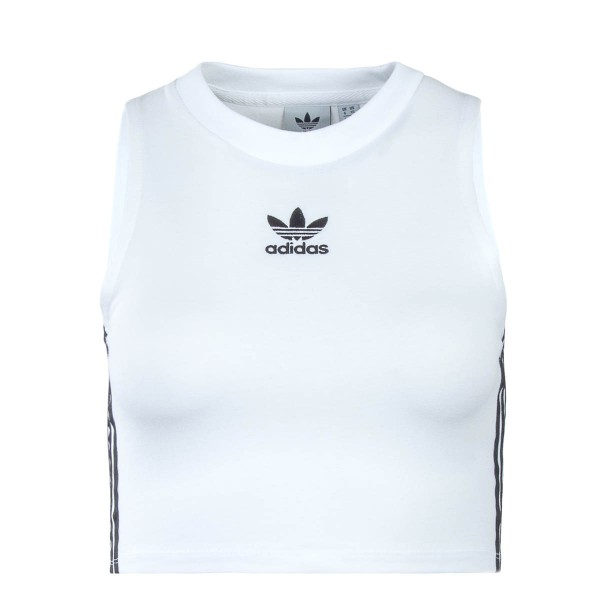 Adidas Wmn Crop Top White Black
