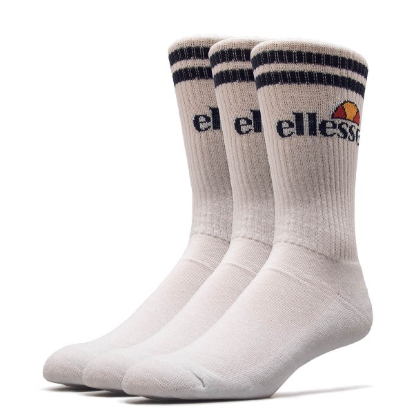 Ellesse Socks 3Pack Pullo White