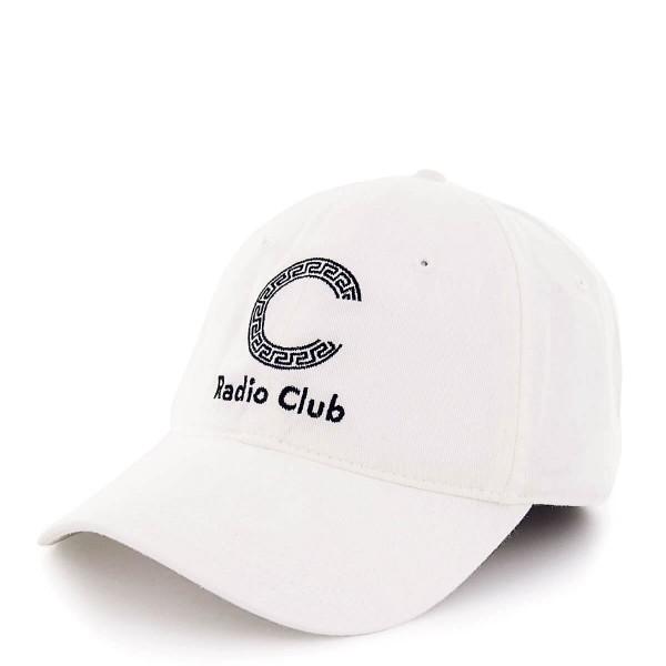 Carhartt Cap Radio Club Logo White Black