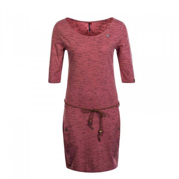 Damen Kleid Tanya Slub Old Pink