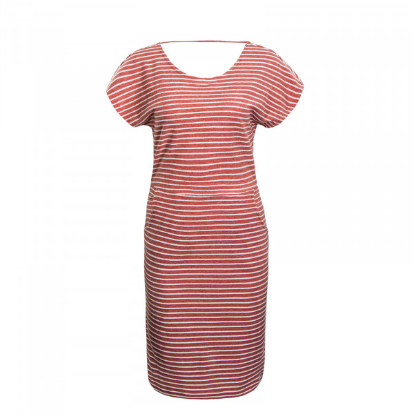 Dress Elly Red Beige