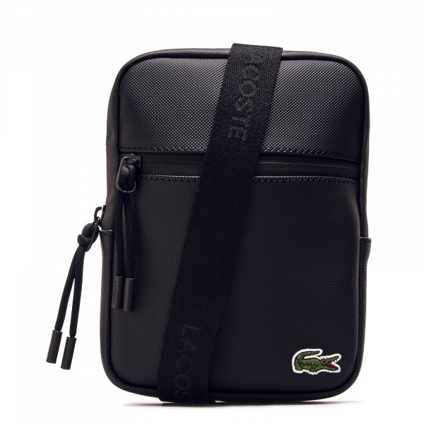 Lacoste Bag 2884 S Flat Crossover Black