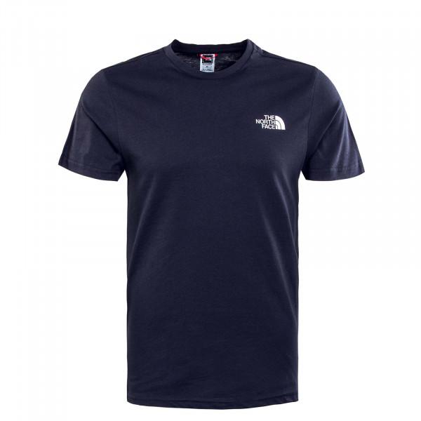 Herren T-Shirt - Simple Dome - Navy