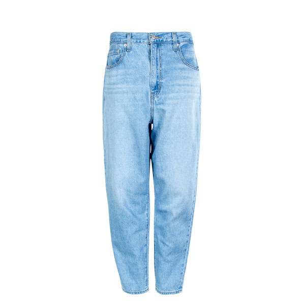 Damen Jeans - High Loose Taper Way Out Tencel - Blue