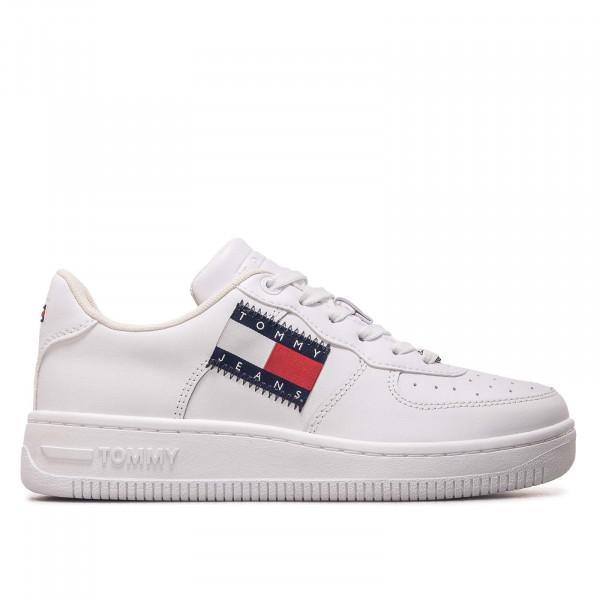 Damen Sneaker Low Cut Flag 1505 - White