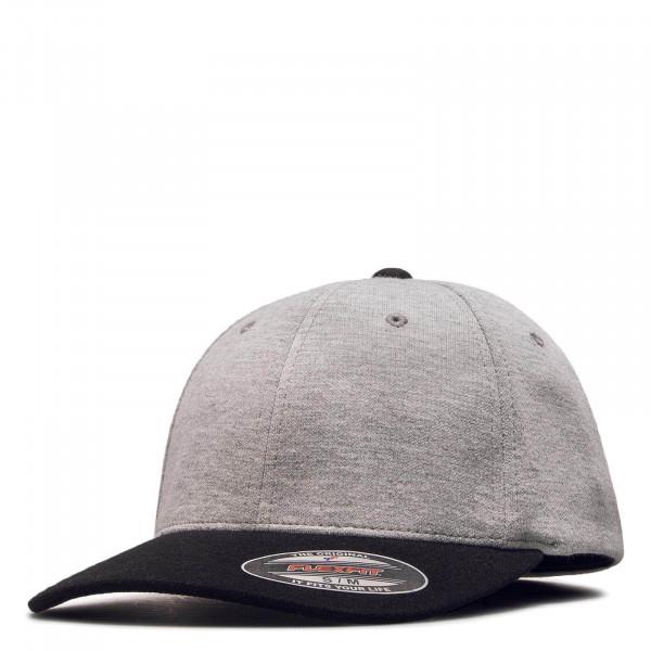 Cap Flexfit Double Jersey Grey Black