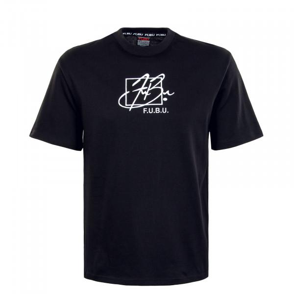 Herren T-Shirt - Script - Black