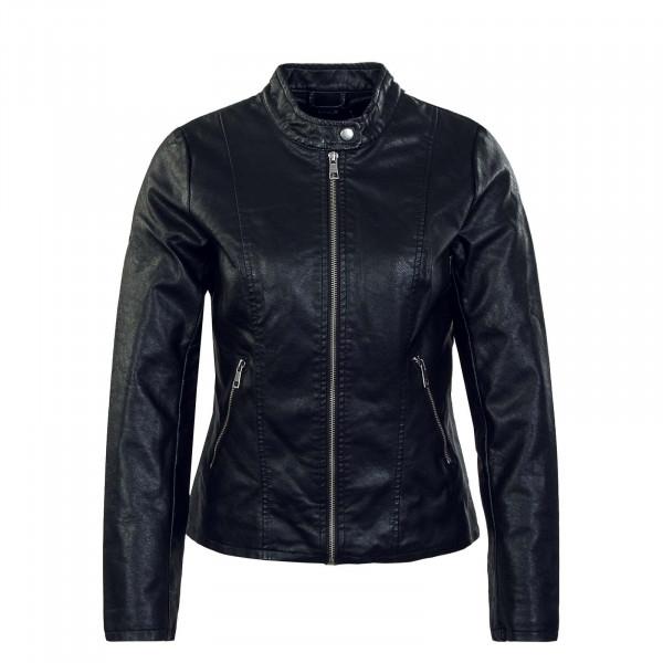 Damen Lederjacke - Melisa Faux Leather - Black