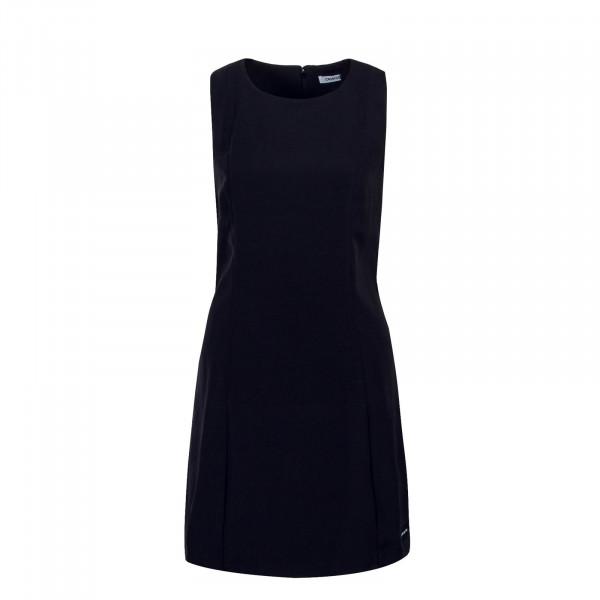 CK Dress Flared Poly Black