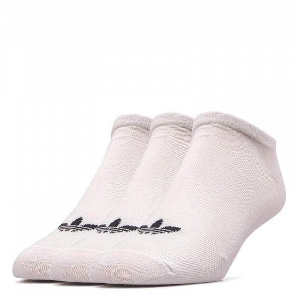 Socks 3-Pack Trefoil Liner White Black