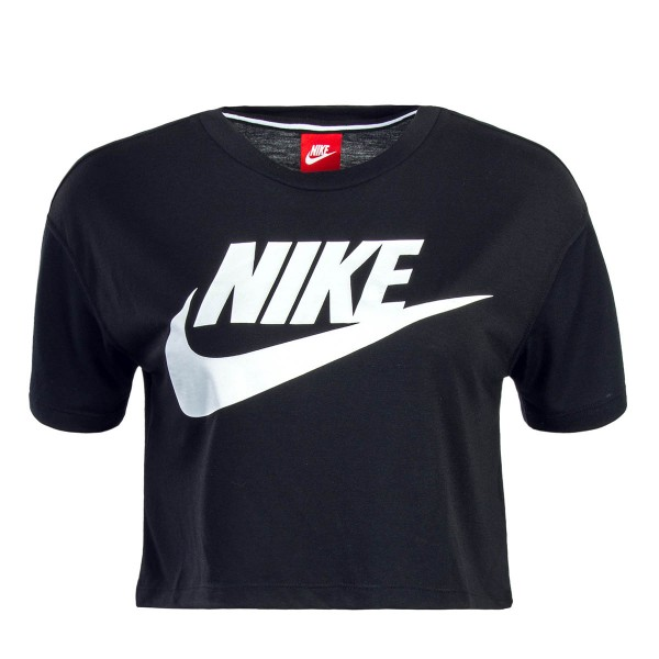 Nike Wmn Crop Top NSW Essential Blk Wht