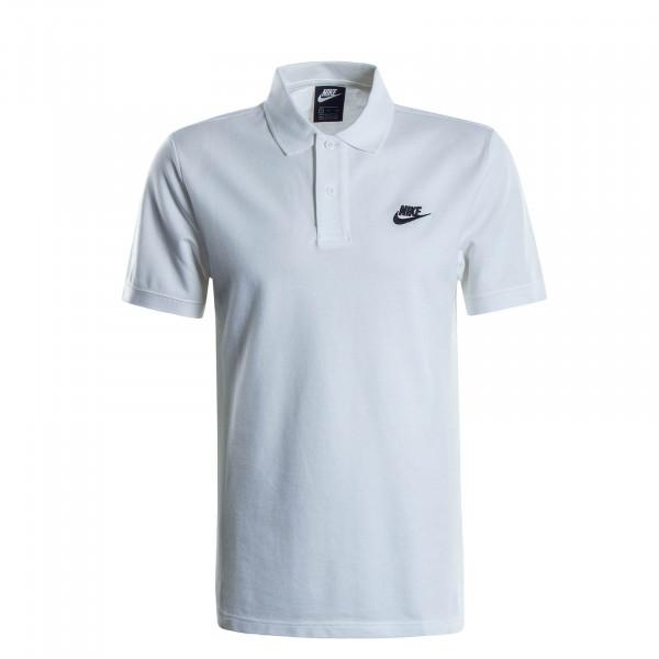 Herren-Poloshirt Matchup White Black