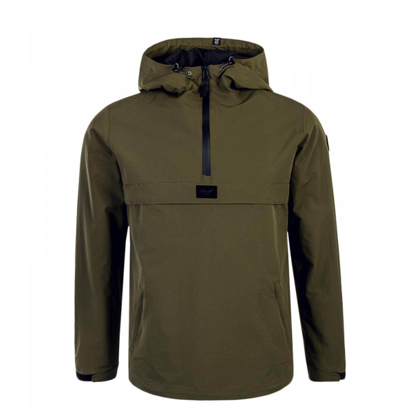 Herren Breaker Hooded Olive