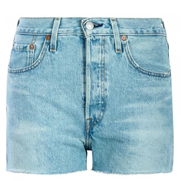 Damen Short 501 High Rise Weak Blue