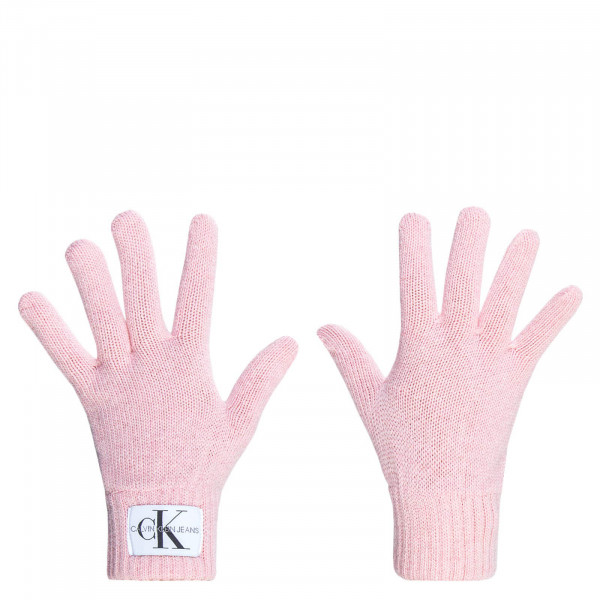 CK Wmn Gloves Basic Rosa