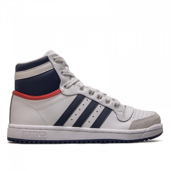 Damen Sneaker J Top Ten Hi White Navy Red