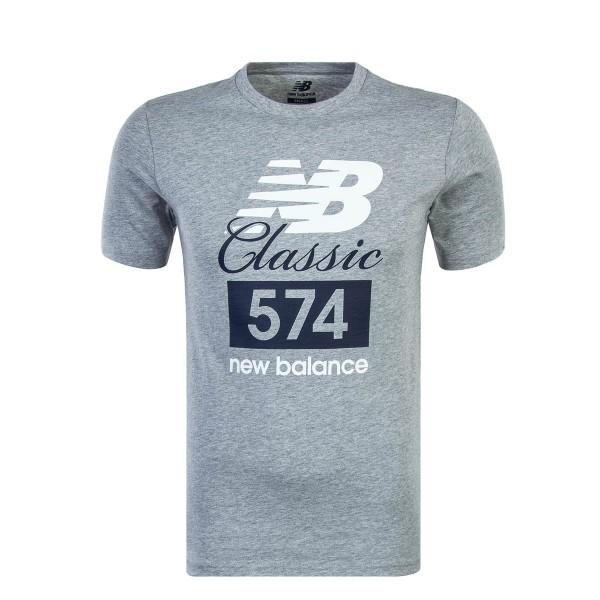 New Balance TS Classic 574 Grey White