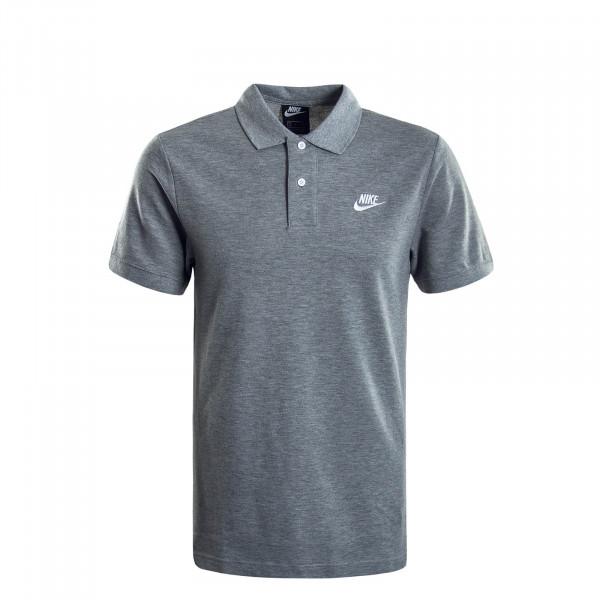 Herren-Poloshirt Matchup Grey White