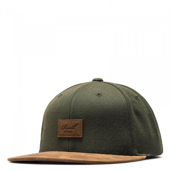 Cap Suede Dark Olive Brown