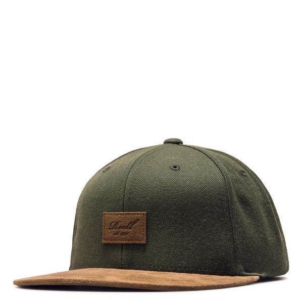 Cap - Suede - Dark Olive Brown