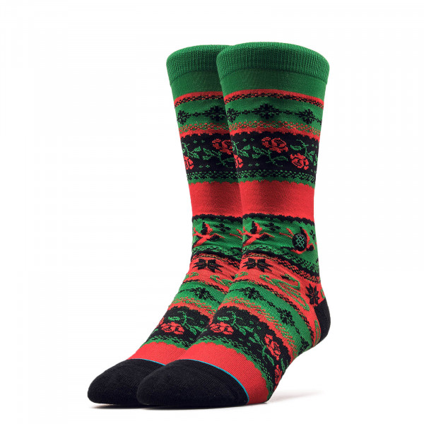 Socken Stocking Stuffer Crew Green