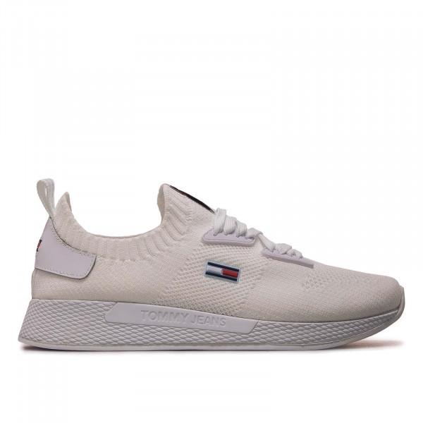 Damen Sneaker - Technical Flexi Knitted Runner - White