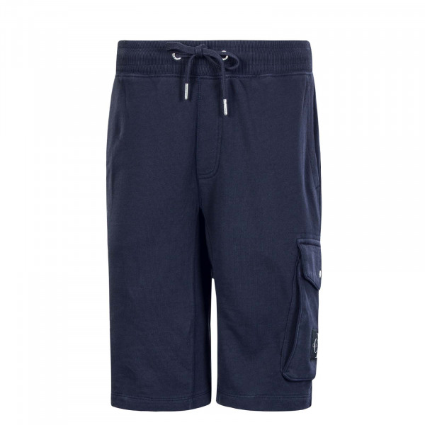 Herren-Short Monogram Patch 4676 Navy