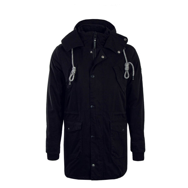 Ragwear Parka Clancy Black