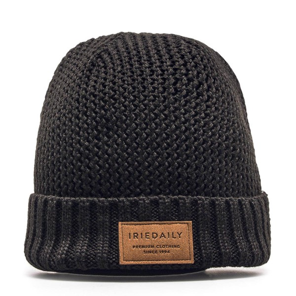 Iriedaily Beanie Fishermans Black