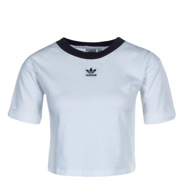 Damen T-Shirt Crop GD 2359 White