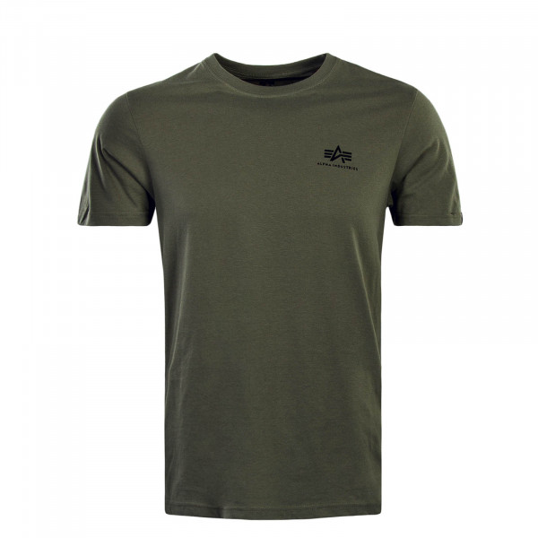 Alpha TS Small Logo Olive