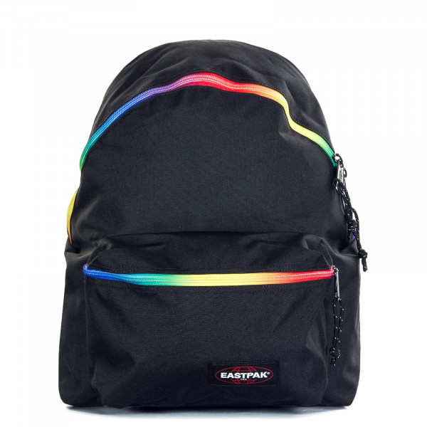 Rucksack Padded Pak'r Rainbow Dark Black
