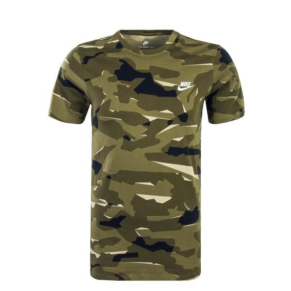 Nike TS 6631 Camo Olive