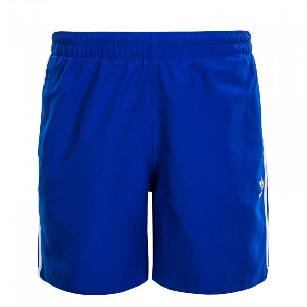 Herren Swimshort 3 Stripe Swims Royal Blue