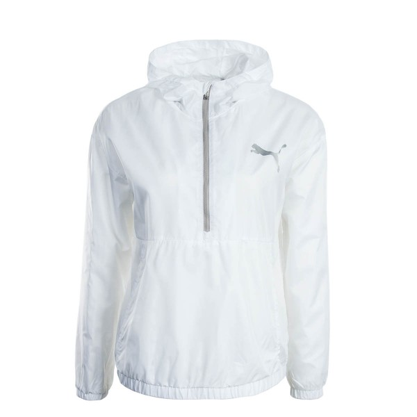 Puma Wmn Windbreaker Spark White