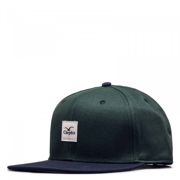 Cap Badger 3 Bottle Green