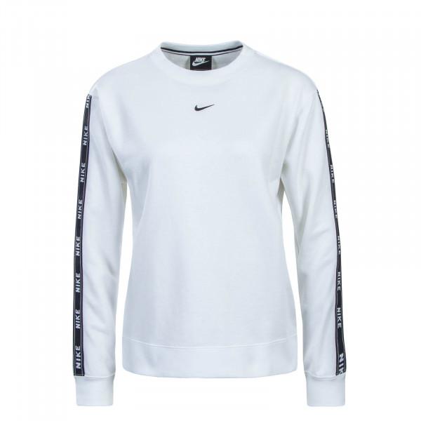 Nike Wmn Sweat NSW Crew Logo White Black