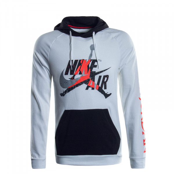 Herren Hoody Jumpman 2852 White Black