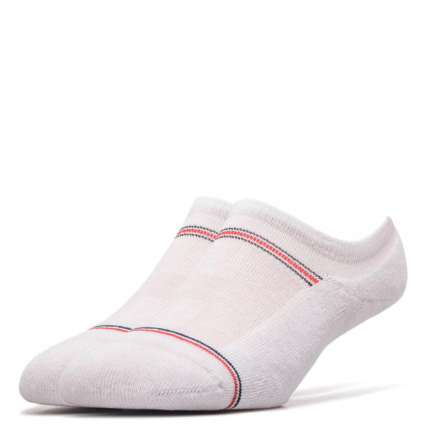 Tommy Socks 2 Pk Iconic Footi  White