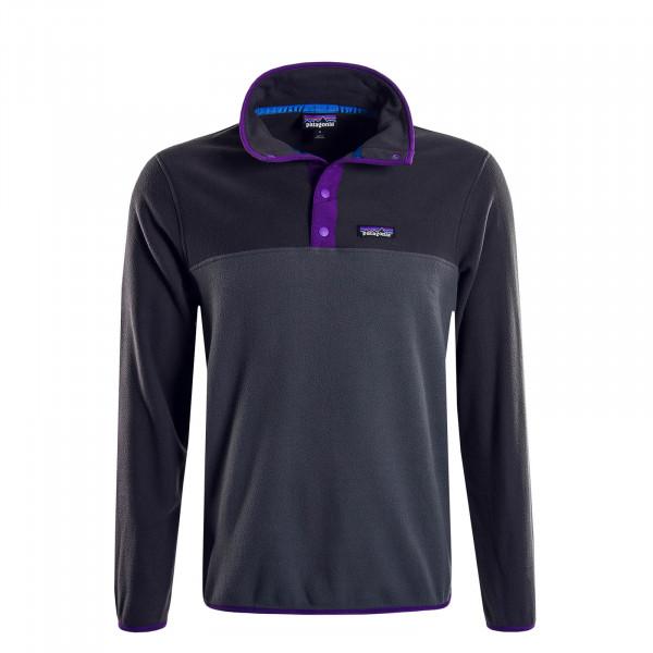 Herren-Sweatshirt Fleece Micro Anthrazit Grey