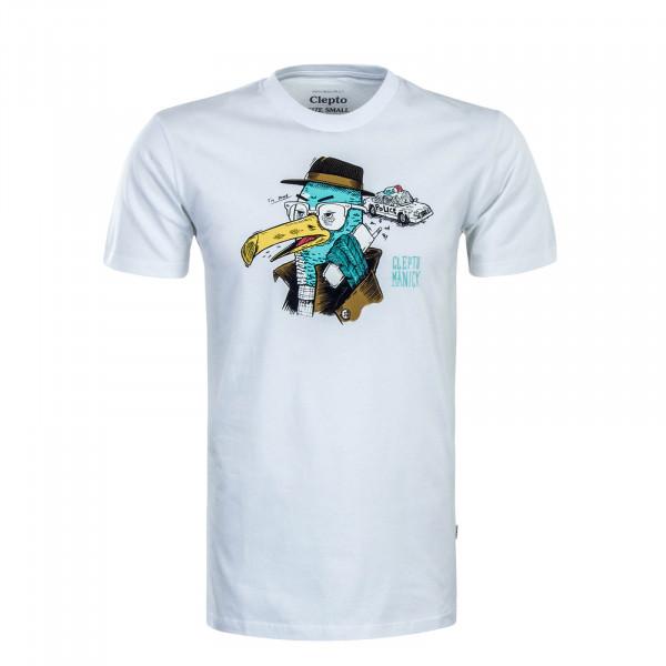 Herren T-Shirt Done White