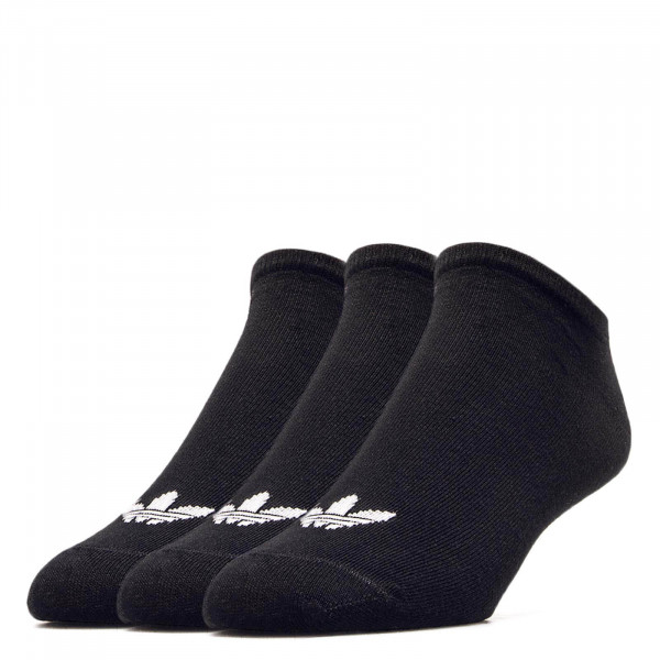 Socks 3-Pack Trefoil Liner Black White