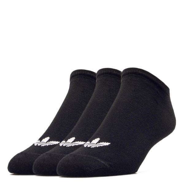 Socks 3-Pack Trefoil Liner Black White